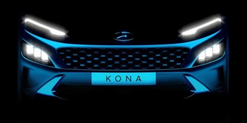 Masih Teaser, Hyundai Kona Facelit Dan Kona N Line Bikin Penasaran