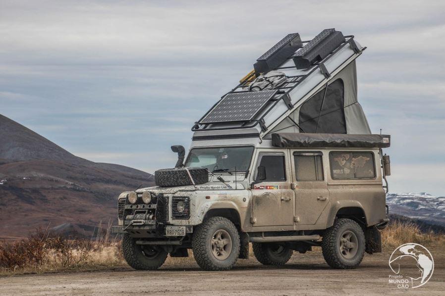 Land Rover Defender Icarus, Konversi Tenda Atap Yang Mudah dan Sederhana