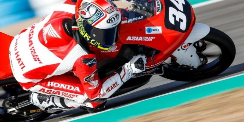 Filosofi Desain Helm Pebalap Astra Honda Racing Team