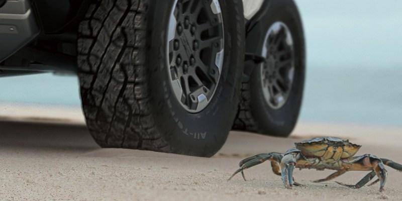 GMC Hummer EV, Inovasi Mobilitas Diagonal Serupa Kepiting
