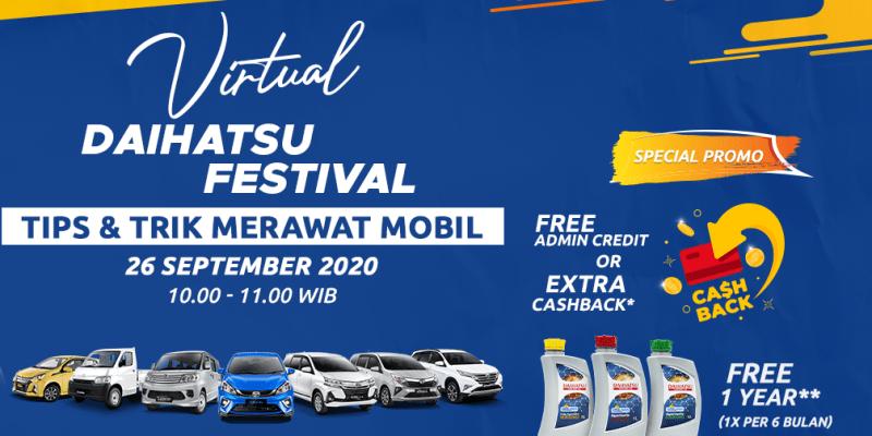 Promo Menarik Beli Mobil Secara Online di Daihatsu Festival