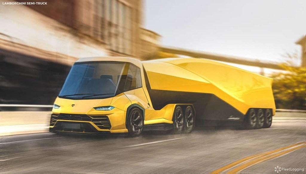 Jika Produsen Mobil Sport Produksi Truk, Inilah Hasilnya