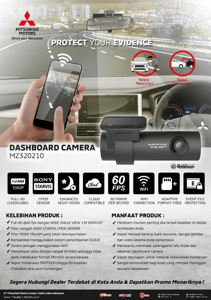 MMKSI Luncurkan Genuine Accessory Dashboard Camera
