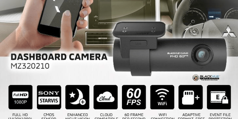 MMKSI Luncurkan Genuine Accessory Dashboard Camera