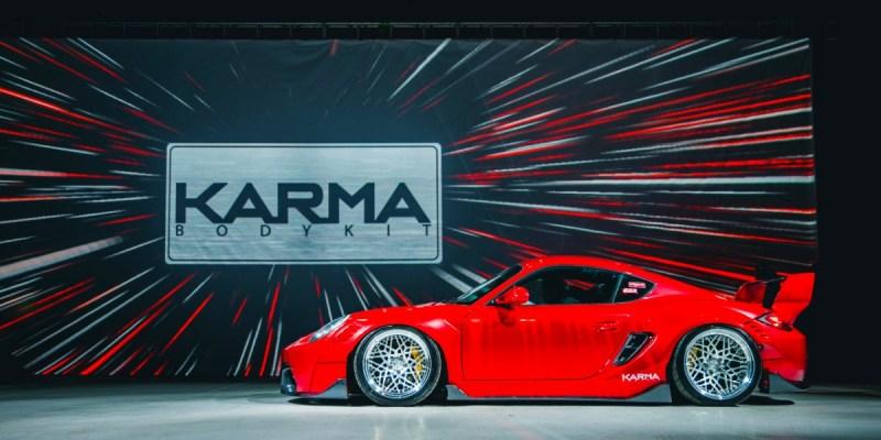 Modifikasi Porsche Cayman 987, Andalkan Body Kit Dari KARMA