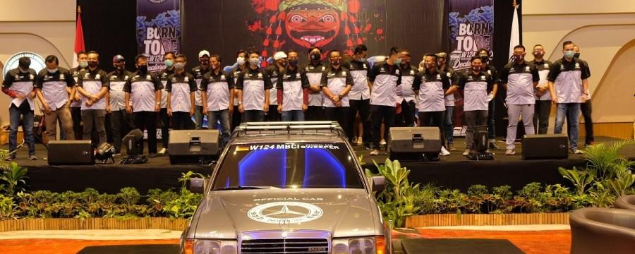 Deklarasi W124 MBCI Chapter Cirebon