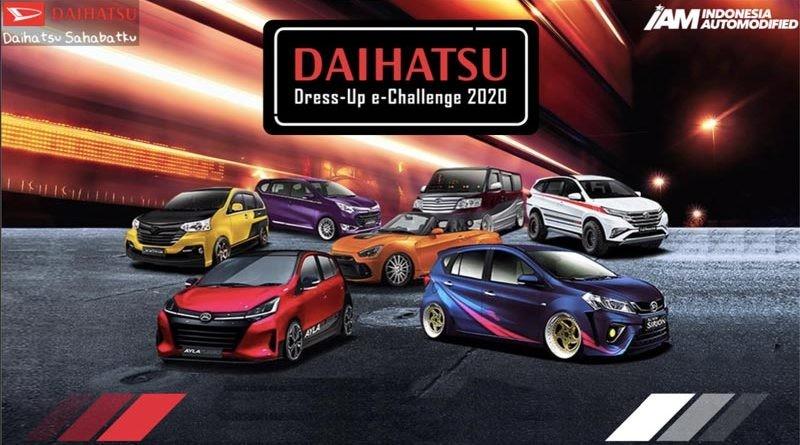 Daihatsu Dress Up Challenge ke-7 Digelar Secara Virtual
