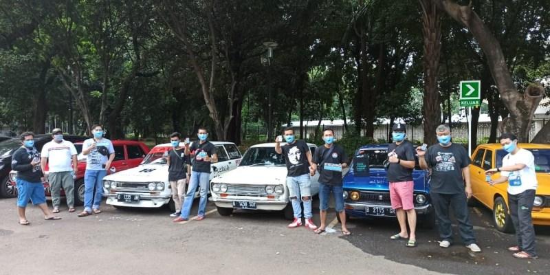 Datsun Jakarta Gelar Kopdar Bulanan Sembari Olagraga