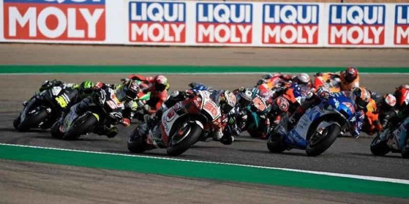 Morbidelli Juara GP Teruel, Duo Suzuki Podium
