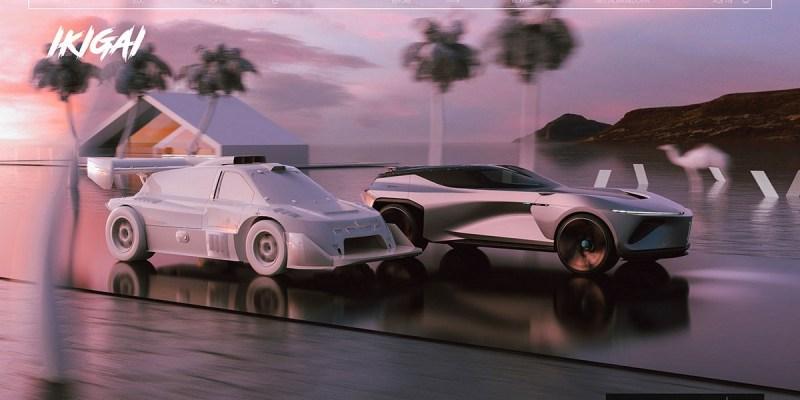 Suzuki Ikigai, Mobil Konsep yang Futuristik