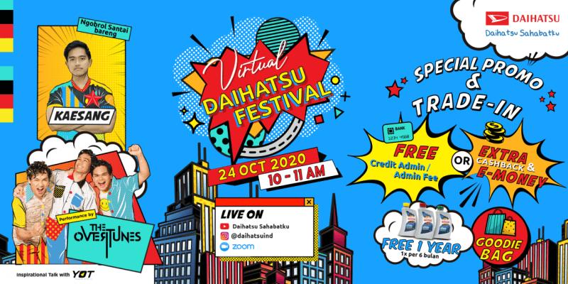 Yuk, Beli atau Tukar-Tambah Mobilmu di Virtual Daihatsu Festival
