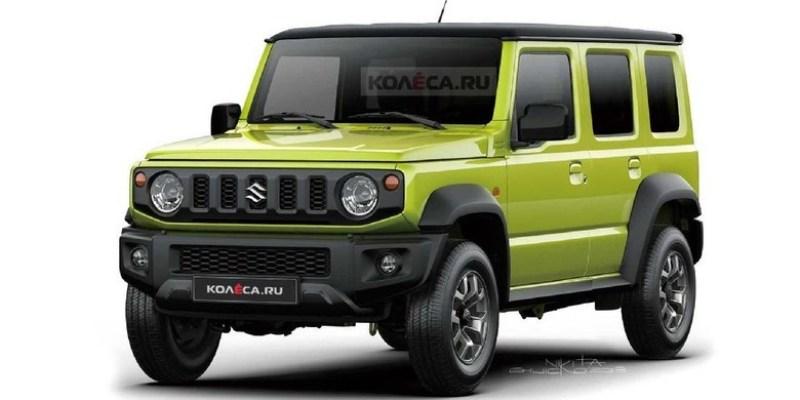 Suzuki Jimny 5 Pintu Akan Menggunakan Basis Toyota Raize?