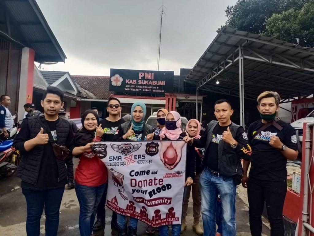 Indonesia Max Owners Regional Jabar Gelar Aksi Sosial