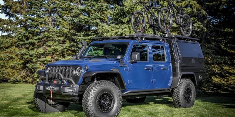 Jeep Gladiator Top Dog Concept, Andalan Para Petualang