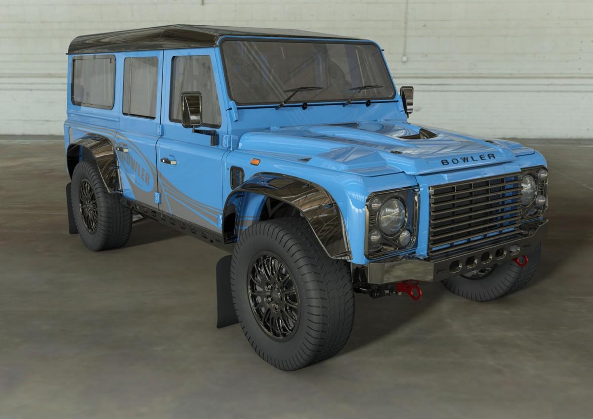 Bowler Land Rover Defender 110, Off Roader Merangkap Rally Racer