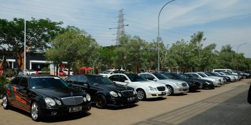 Kehadiran MB W211 CI Chapter Bekasi di Jamnas MB Club INA ke-15