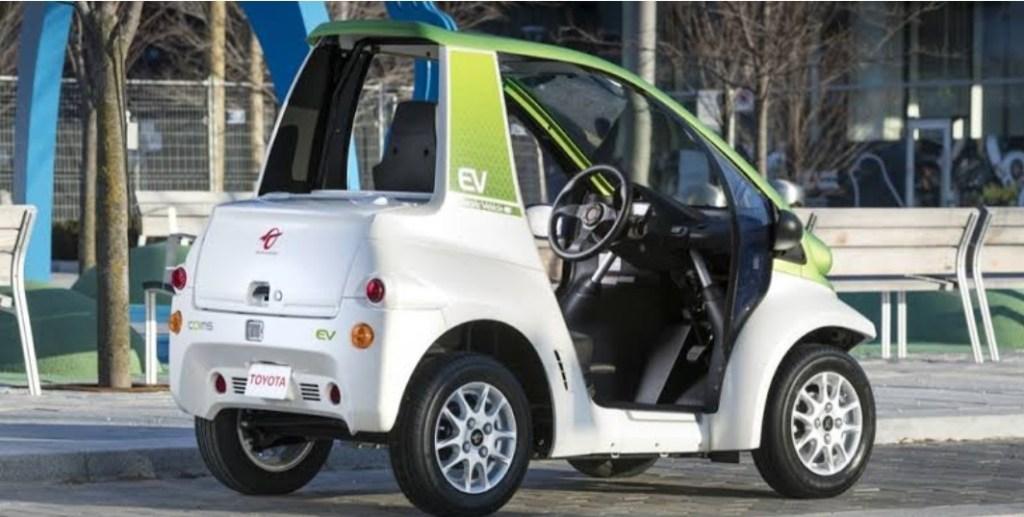Toyota Coms, EV Mungil Yang Akan Menjadi Kendaraan Wisata Di Bali
