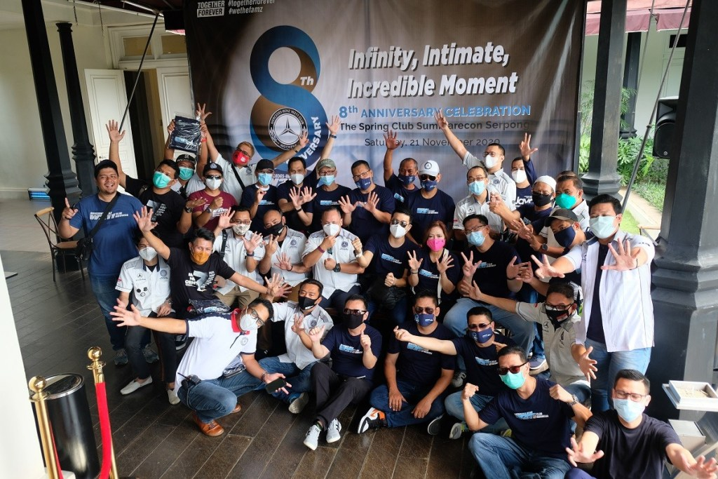 Dari Perayaan HUT ke-8 MB W211 Club Indonesia