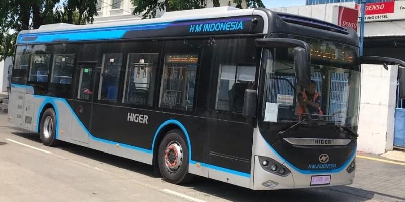 Bus Listrik Higer Bakal Jadi Armada Transjakarta, Bisa Tempuh 300 Km