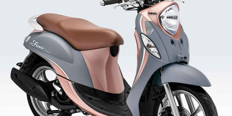 Yamaha Fino 125 Premium Tampil dengan Warna Baru