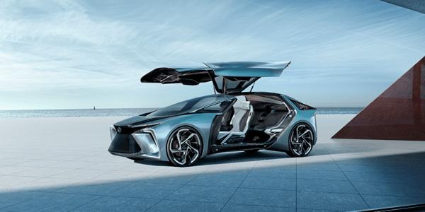 Lexus LF-30 Electrified Concept, Mobil Listrik Premium Masa Depan