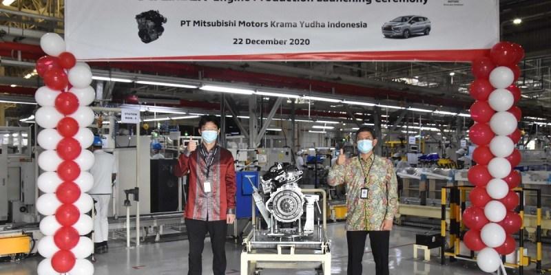 PT MMKI Mulai Produksi Mesin Xpander
