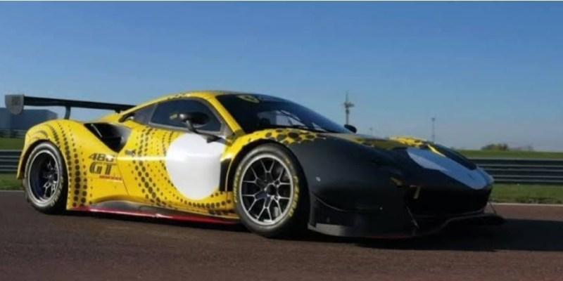 Ferrari 488 GT Modificata, Supercar Khusus Balap Tertutup Edisi Terbatas