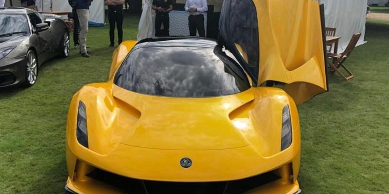Lotus Evija EV Terbaru Tampil Di Perhelatan Goodwood SpeedWeek