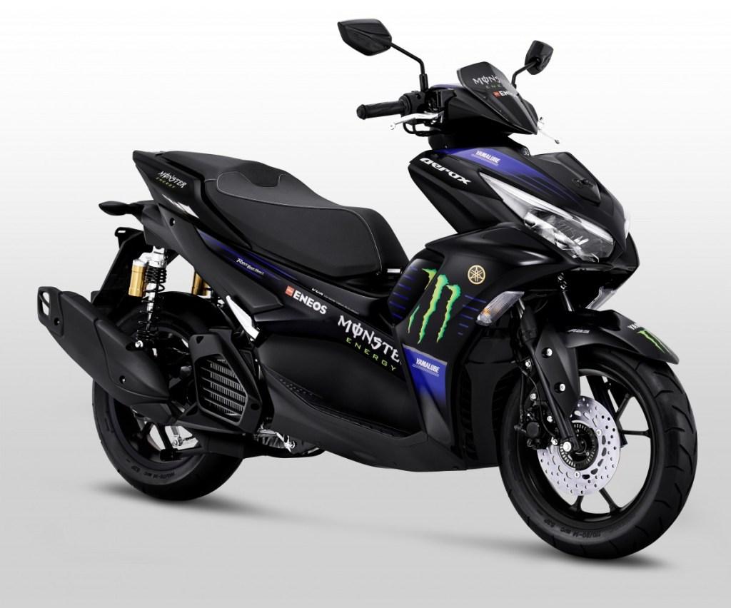 Yamaha Luncurkan All New Aerox 155 Connected MotoGP Edition