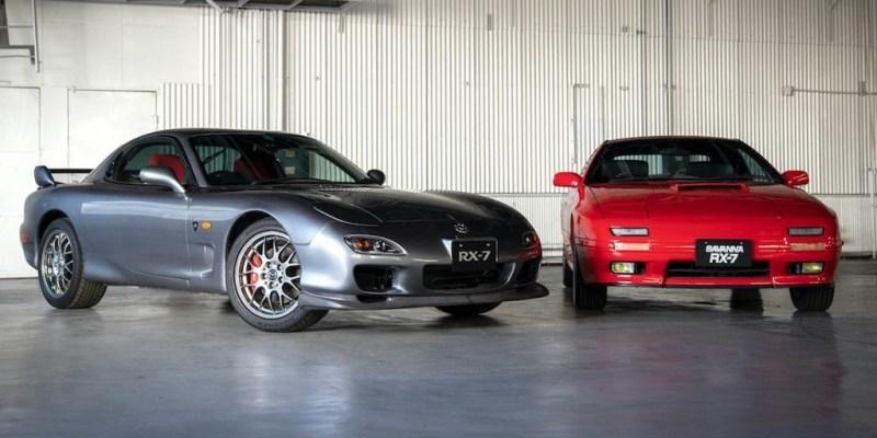 Mazda Produksi Ulang Suku Cadang RX-7
