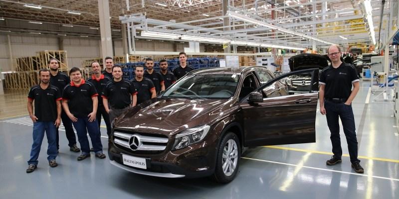 Mercedes-Benz Tutup Pabriknya di Brazil