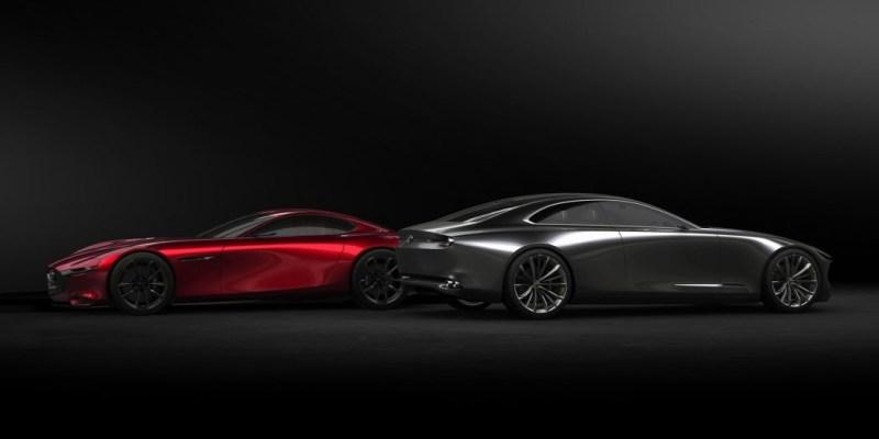 Kartu truf terbaru Mazda, RWD + mesin I-6