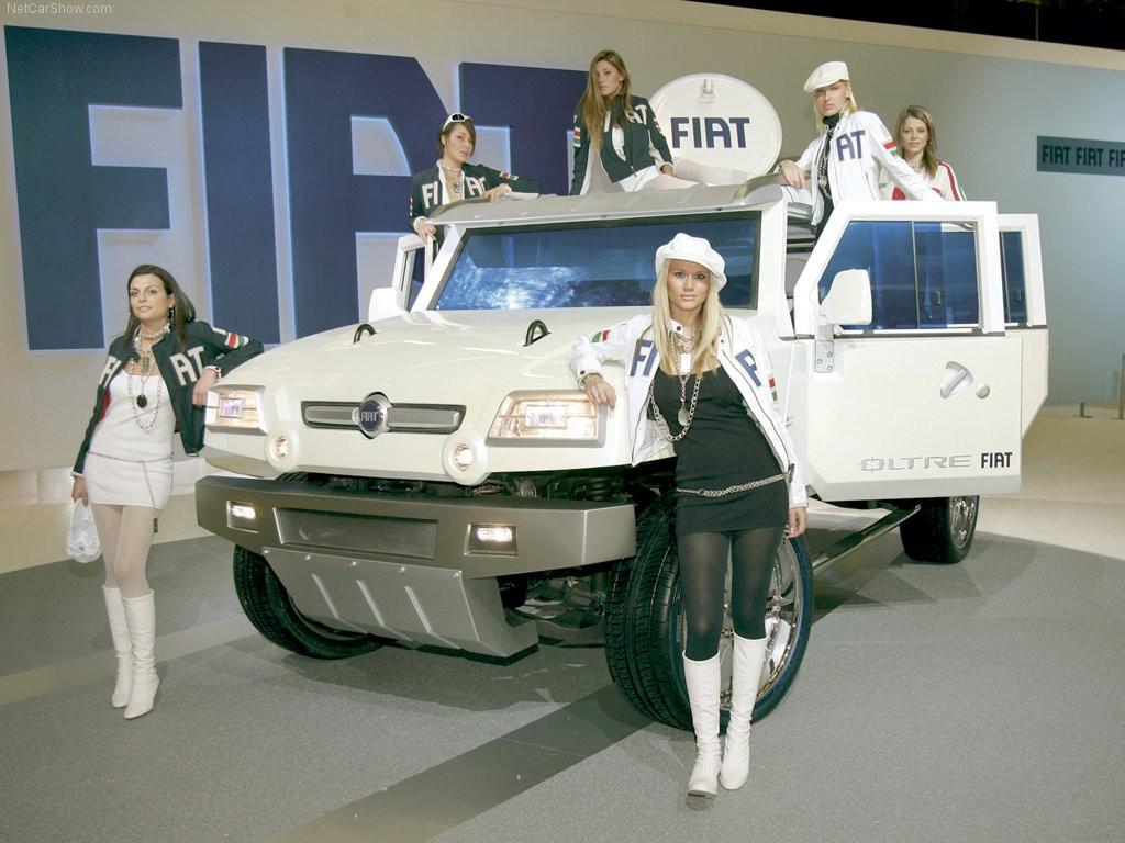 Fiat Oltre : Sang Hummer Asal Italia