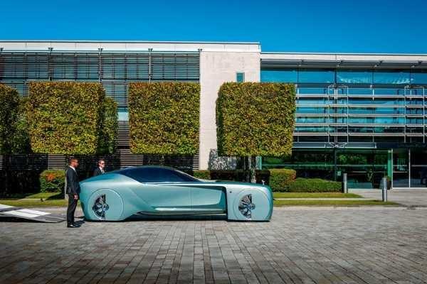Silent Shadow, Sedan Listrik Murni Pertama Dari Rolls-Royce