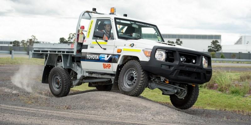 Land Cruiser 70 EV, Kuda Beban Listrik Untuk Pertambangan