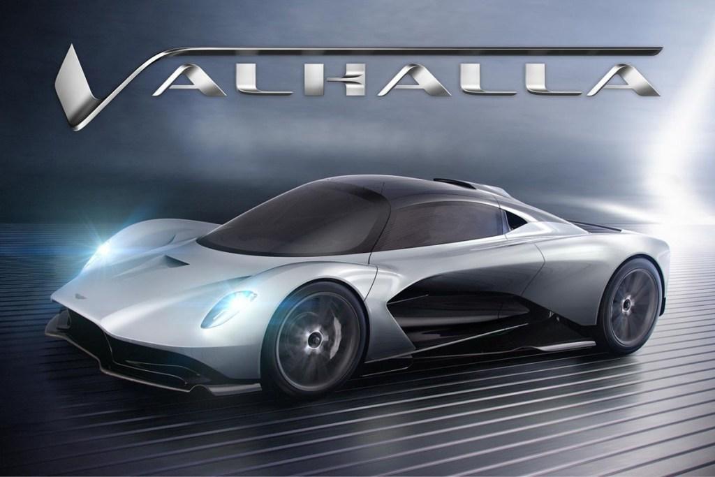 Valhalla, Supercar Aston Martin Bermesin Mercedes-Benz
