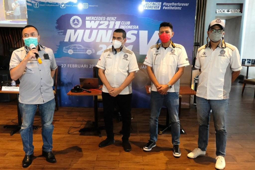 Presiden Baru MB W211 CI Inginkan Klub Menjadi Lebih Baik Lagi