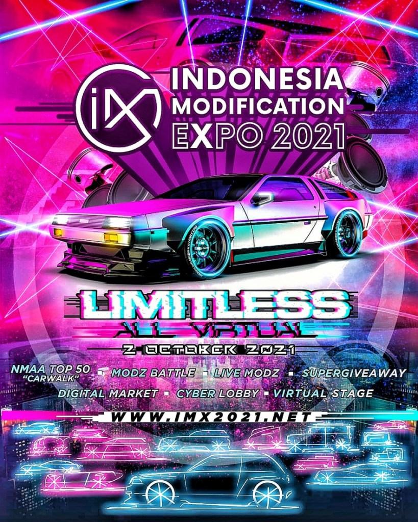 Usung Tema 'LIMITLESS', IMX 2021 Kembali Digelar Secara Virtual