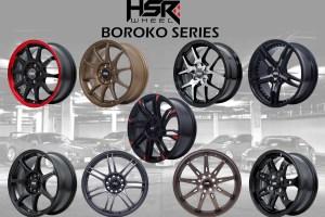 HSR Wheel 'Boroko Series', Untuk Modifikasi Aliran JDM
