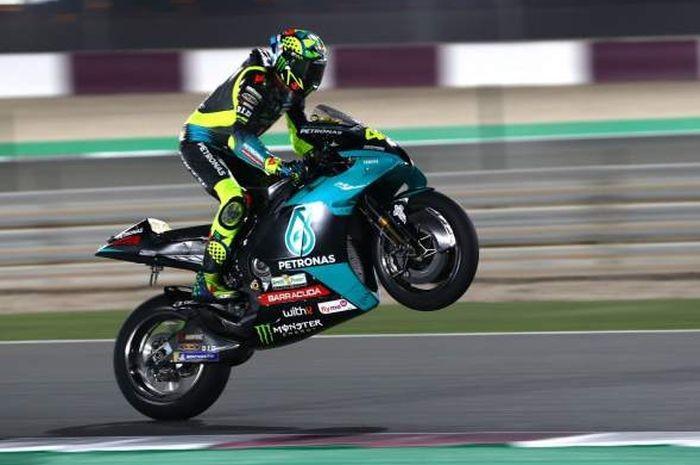 Gunakan Perangkat Baru, Rossi Puas Hasil Tes Pramusim MotoGP Qatar