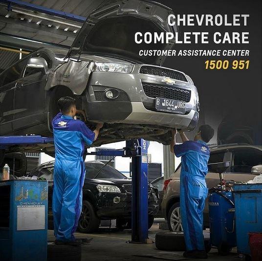 Chevrolet Indonesia Tetap Sediakan Jaringan Purna Jual Untuk Konsumen