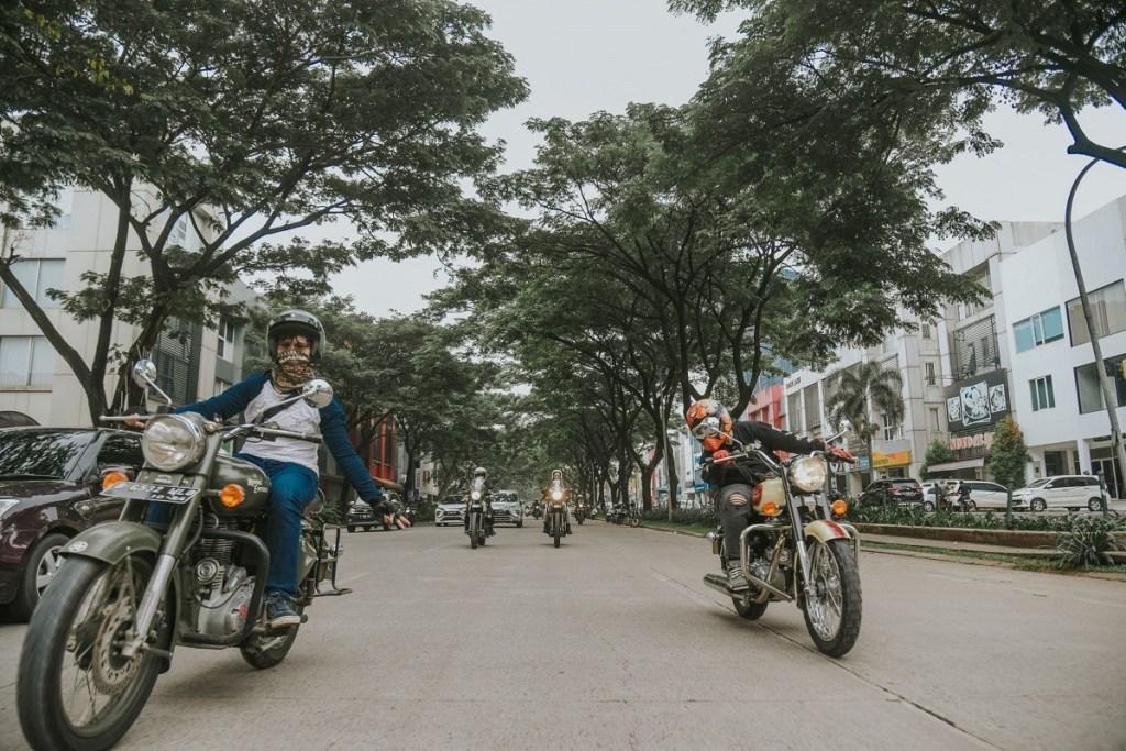 Female Riders di Peringatan 'International Women's Day'