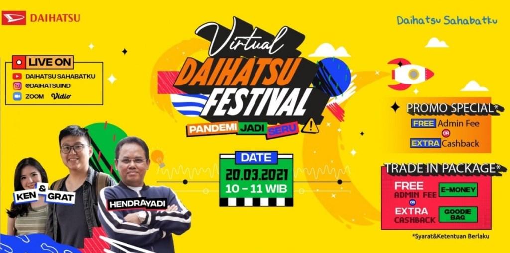 Daihatsu Kembali Hadirkan Program Penjualan Virtual Daihatsu Festival