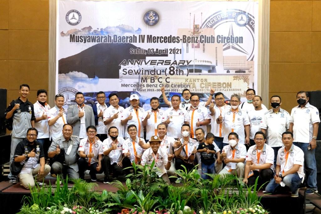 MB W211 CI Bekasi Chapter Hadiri Musda dan Perayaan Ultah MBCC