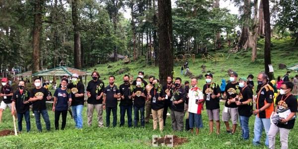 Penanaman 1000 Pohon TEVCI di Jawa Barat