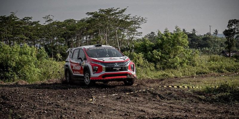 Rahasia Dibalik Digdayanya Xpander AP4 di Tropical Sprint Rally 2021