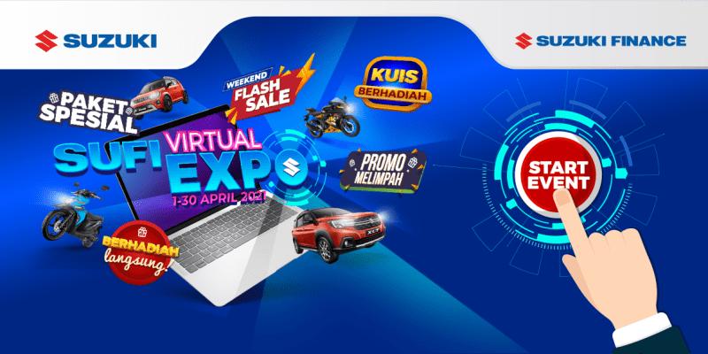 Suzuki Finance Expo 2021, Berikan Banyak Promo Menarik