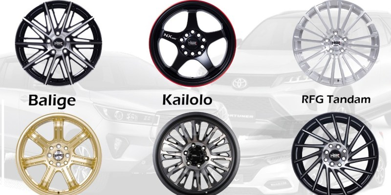 Velg HSR Wheel Ini Dijamin Bikin Kendaraan Lebih Elegan