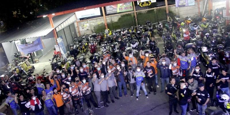 Ratusan 'Bikers' Hadiri Deklarasi BMI Chapter Jakarta