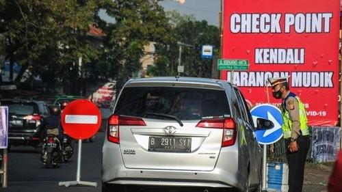 Jelang Idul Fitri, 104 Ribu Kendaraan Pemudik Dipaksa putar Balik